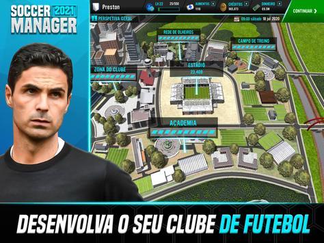 Soccer Manager 2021 - Jogos de Futebol Online imagem de tela 7