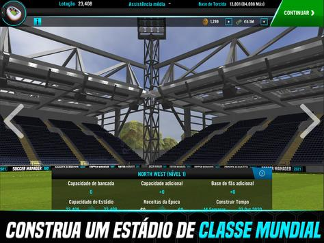 Soccer Manager 2021 - Jogos de Futebol Online imagem de tela 8