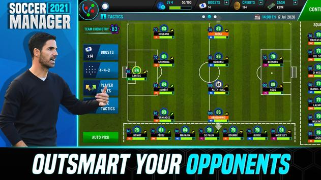 Soccer Manager 2021 - Football Management Game स्क्रीनशॉट 4