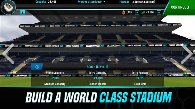 Soccer Manager 2021 - Football Management Game स्क्रीनशॉट 3