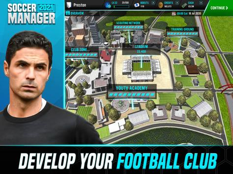 Soccer Manager 2021 - Football Management Game स्क्रीनशॉट 7