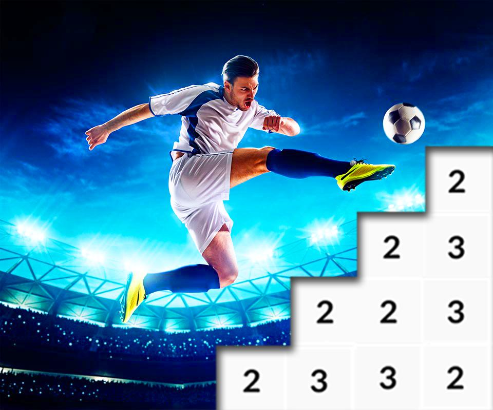Football Pixel Art Soccer Color By Number For Android Apk