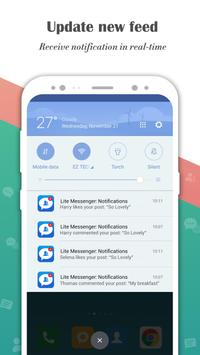 Messenger for Lite Messages, Text & Chat Free screenshot 3