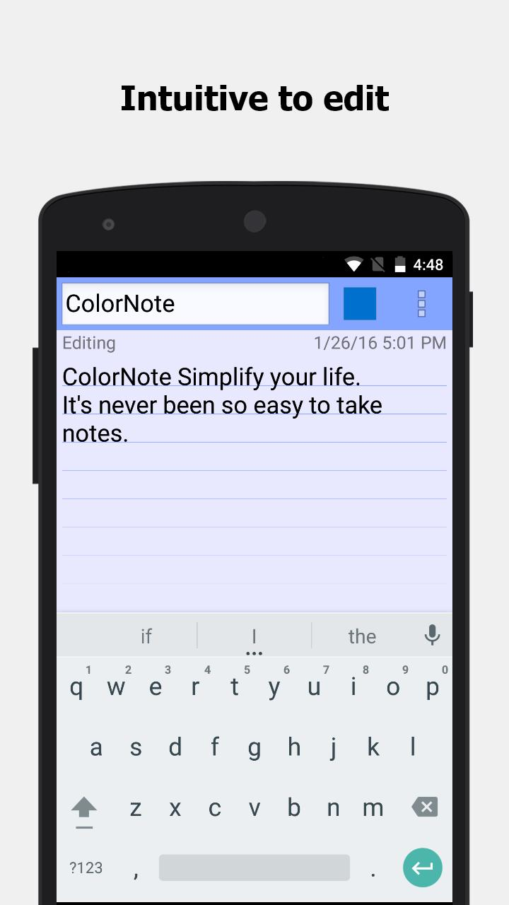 ColorNote for Android - APK Download