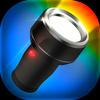 Linterna de color LED luz icono