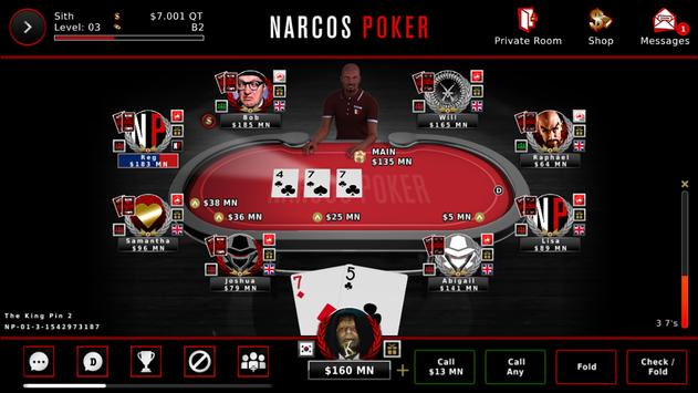 Narcos Poker poster