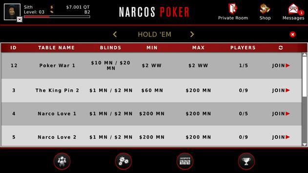Narcos Poker screenshot 2