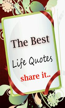 The Best Life Quotes poster