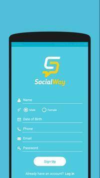SocialWay screenshot 1