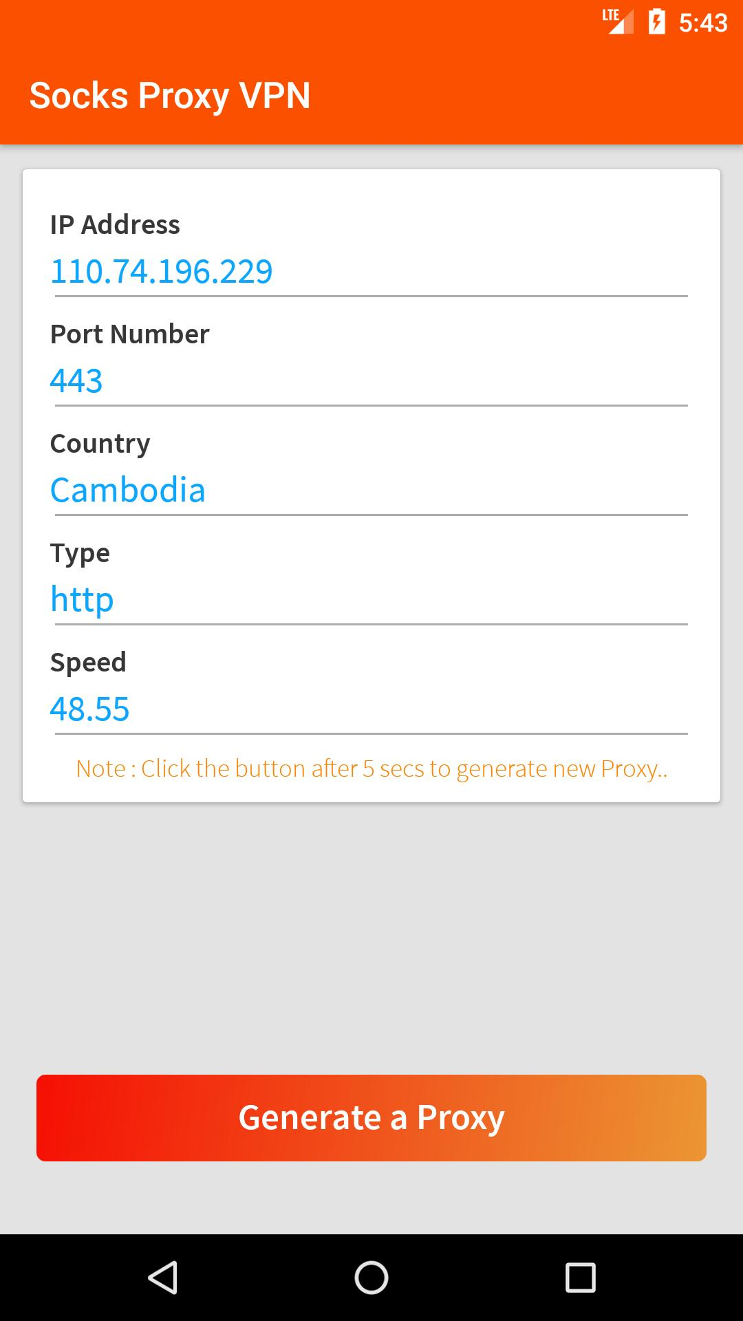 Socks Proxy VPN for Android - APK Download