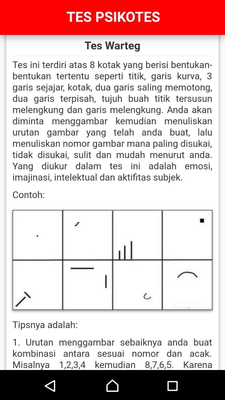 Soal Tes Psikotes For Android Apk Download
