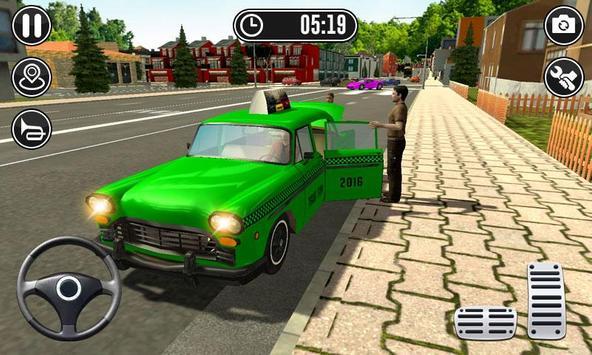 NY City Taxi Simulator - Cab Driver Simulator screenshot 1