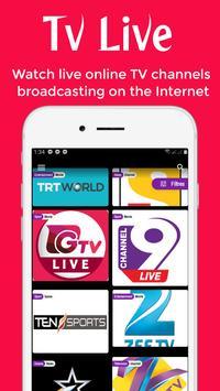 Vflix: Stream Live Tv, Movies, TV Shows And More تصوير الشاشة 2