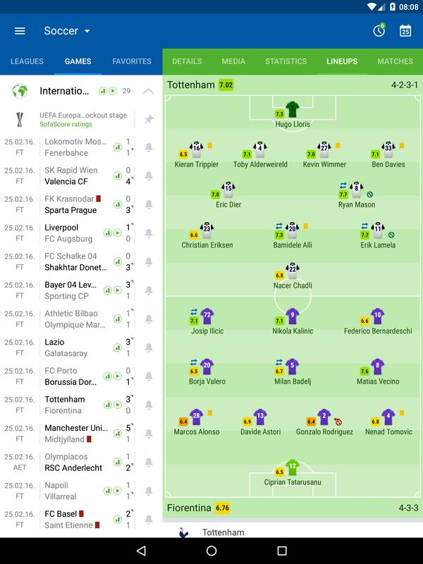 SofaScore for Android - APK Download