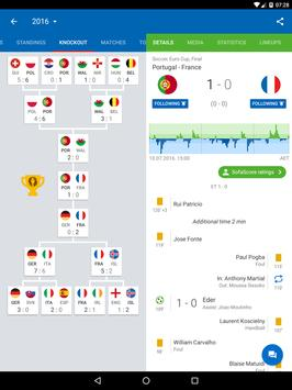 Soccer Scores and Sports Livescore - SofaScore تصوير الشاشة 7