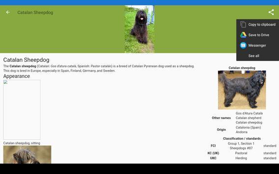 Dog breeds screenshot 15