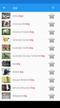 Dog breeds screenshot 4