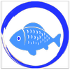 Aquarium fish icon