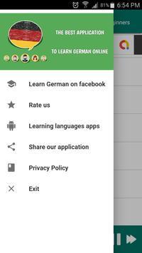 Learn German for Beginners - Free Audio Podcast screenshot 4