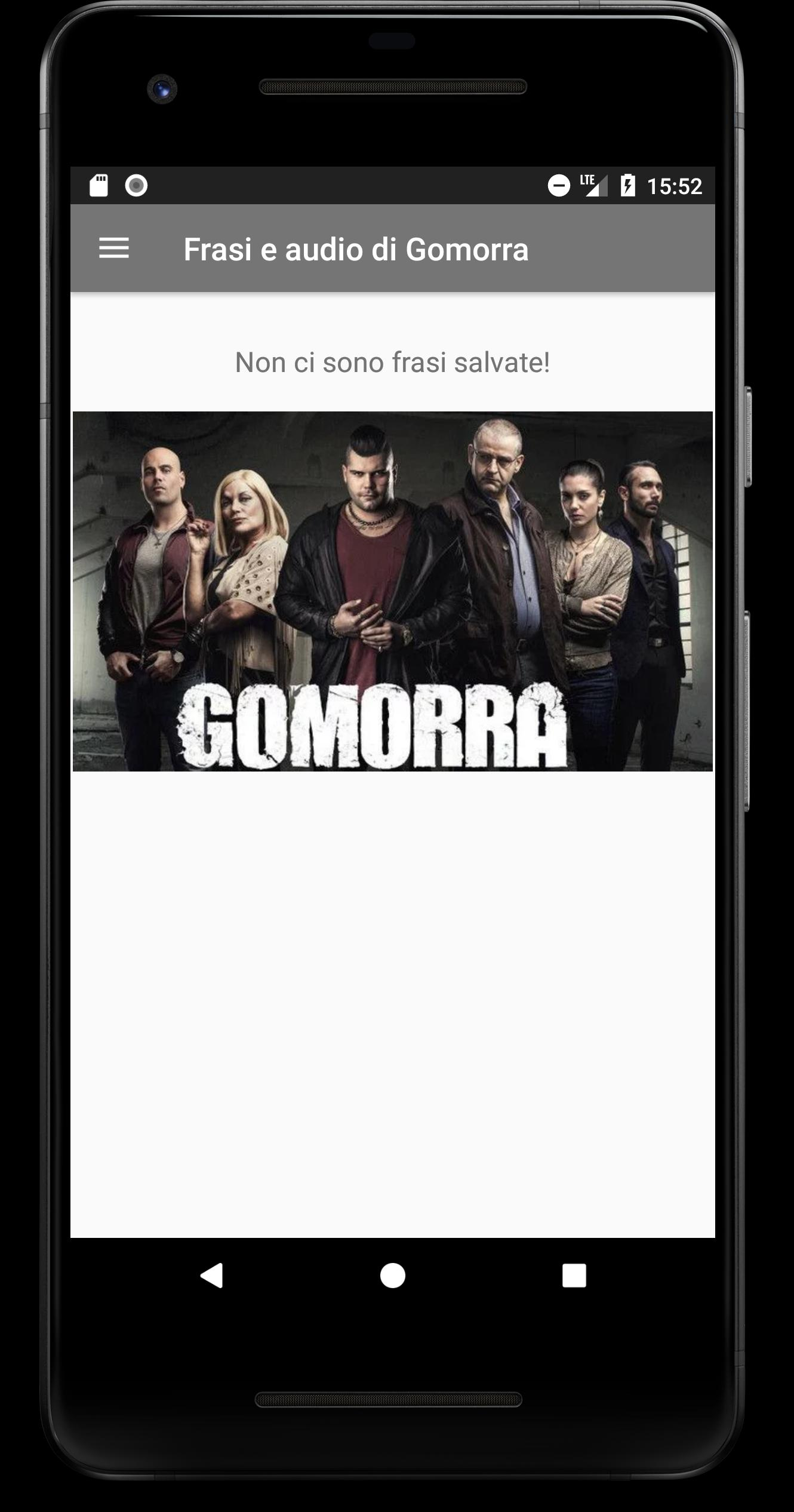 Frasi E Audio Di Gomorra For Android Apk Download