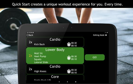 Go! Workouts 스크린샷 12