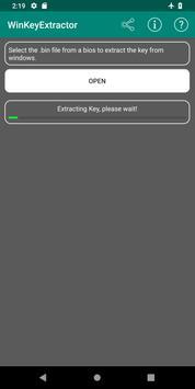 WinKeyExtractor screenshot 1