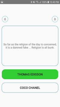 Quotes Plus: Best Quotes - Trivia - Quiz Game screenshot 1