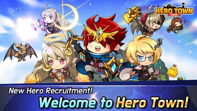 Hero Town Online : 2D MMORPG poster