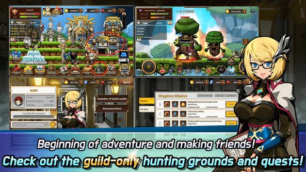 Hero Town Online : 2D MMORPG screenshot 4