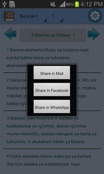 Swahili Bible Offline screenshot 15