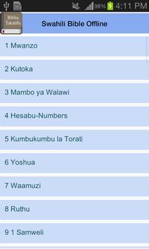 Swahili Bible Offline screenshot 17