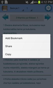 Swahili Bible Offline screenshot 21