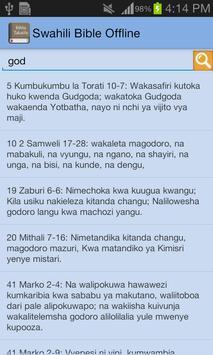 Swahili Bible Offline screenshot 23