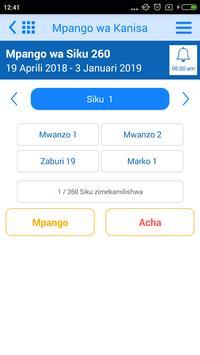 Swahili Bible Offline screenshot 3