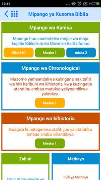 Swahili Bible Offline screenshot 5