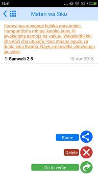 Swahili Bible Offline screenshot 6