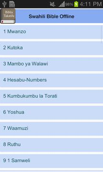 Swahili Bible Offline screenshot 9