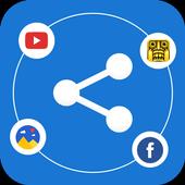 Share All : Copy all Data Transfer Files icon
