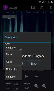 Ringtone Creator captura de pantalla 13