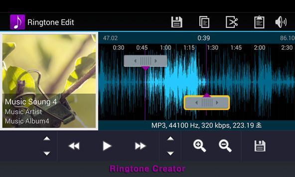 Ringtone Creator captura de pantalla 7