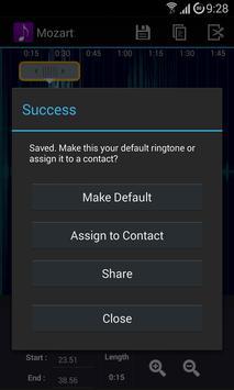 Ringtone Creator captura de pantalla 5