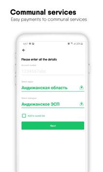Uzrefill - Mobile top-ups & Payments for services screenshot 3