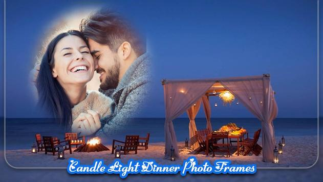 Candle Light Dinner Photo Frames poster