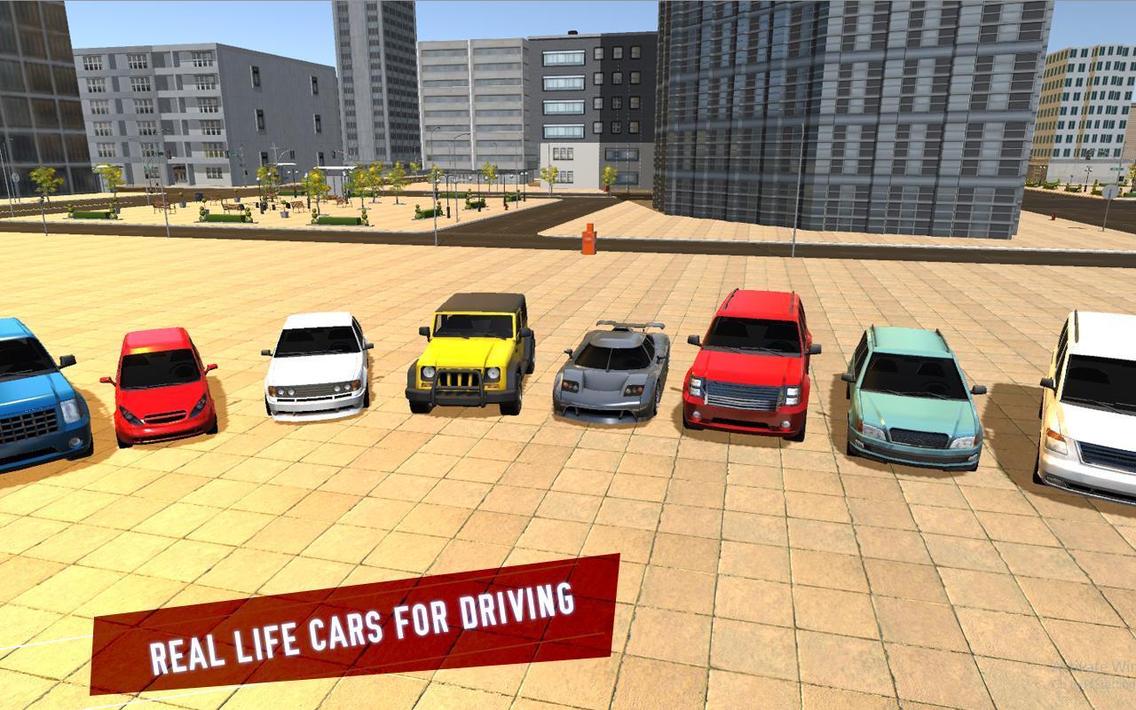 car driving school simulator apk download