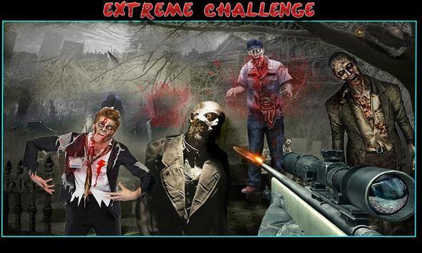 Zombie Shooting Sniper Assault screenshot 1