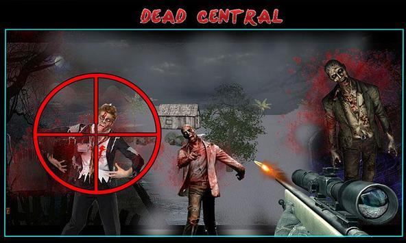 Zombie Shooting Sniper Assault screenshot 2