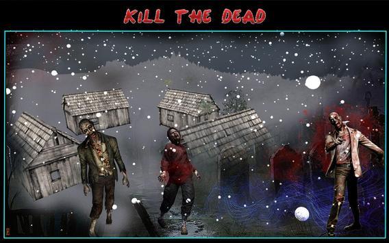 Zombie Shooting Sniper Assault screenshot 4