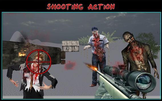 Zombie Shooting Sniper Assault screenshot 7