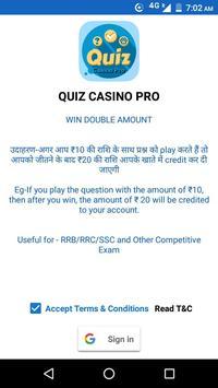 Quiz Casino Pro screenshot 5