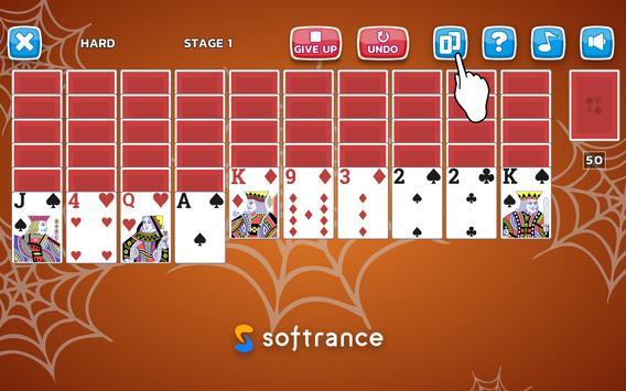 Spider Solitaire screenshot 9